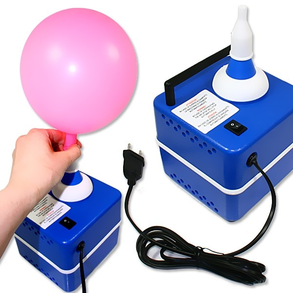 Elektrische Ballonpumpe, superschnell u. einfach Ballons aufblasen